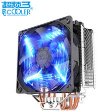 PCCOOLER X5 original CPU cooler fan 5 heatpipe smart 4pin led silent cooling radiator fan for LGA1151 775 115x FM2+ FM2 FM1 AM3