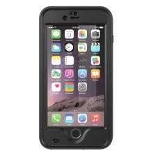 RED Atomic waterproof dirtproof shockproof case for apple Iphone 6 Plus 5.5 Black