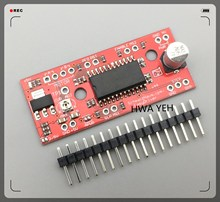 A3967 EasyDriver Stepper Motor Driver V44 for arduino development board 3D Printer A3967 module(China)