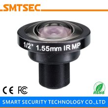 "SL-RY155F20IR 1/2"" F2.0 HD 5MP Megapixels Lens M12 1.55mm Fisheye Lens 185 Degrees Wide Angle CCTV Lens For Security Camera"
