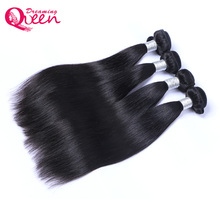 Peruvian Straight Human Hair Bundles Weave 100% Remy Human Hair Extension Natural Black 1B Color Dreaming Queen Hair Products(China)