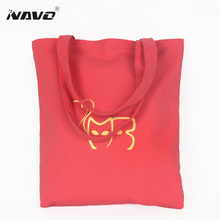 NAVO Women Calico bag Cotton Canvas Tote bags Reusable Cotton Grocery Shopping Bag Ecobag Foldable Reusable Gift Bag