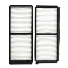 Cabin Air Filter Car Auto for Mazda D651-61-J6X Carbonized Carbon Cabin Efficient Grey Air Filter Car-styling(China)