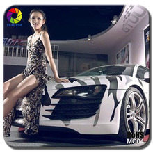 1.52X30M Air free bubbles white camouflage Car Wrap Vinyl Sticker (snow camo,desert camo,Jungle camo,digital camo)
