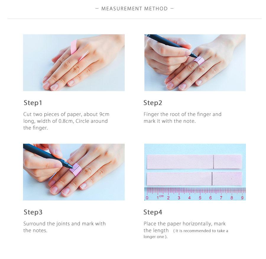 Anneau yin yang  comment mesurer la taille de son doigt | OkO-OkO