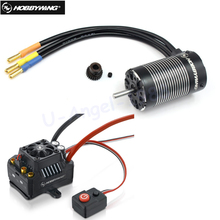 1pcs Original Hobbywing EZRUN MAX10 SCT 120A Brushless ESC + 3660 G2 3200KV/ 4000KV/4600KV Sensorless Motor Set for 1/10 RC Car