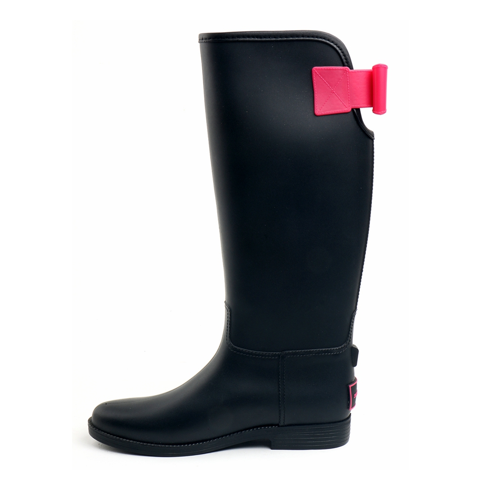 TONGPU Ladies Tall Rain Boots Fashion Style Hot Sale Comfortable Non-Slip Outsole Women Riding Boots 10-069<br>