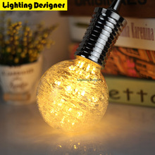 G95 Edison bulb Led lamp e27 decorative light bulb 220V1.8W Glass fiber fireworks holiday light christmas decorations chandelier(China)