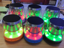 Bluetooth Audio LED Colorful Wireless Bluetooth Speaker Mobile Subwoofer Portable