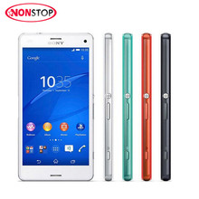 "Original Sony Xperia Z3 Compact D5803 Mobile Phone GSM 4G LTE Android Quad-Core 2GB RAM 16GB ROM 4.6"" WIFI GPS cell phone"