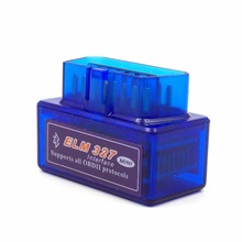 Super Mini ELM327 OBD2 Bluetooth Interface Car Diagnostic tool Auto Car detector Scanner obdii for Android window