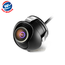 HD CCD night vision car rear view camera front view side view Camera rear monitor for 360 degree Rotation Universal camera(China)