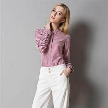 Buy Autumn Women Striped Shirt Fashion Cotton Long Sleeve Tops Patchworkstriped Ladies Office Shirts Casual Plus Size Women Clothing for $19.48 in AliExpress store