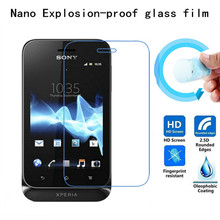 Buy Soft Explosion-proof Nano Protection Film Foil Sony Xperia Tipo ST21I ST21A ST21 Screen Protector Tempered Glass for $1.49 in AliExpress store