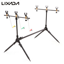 Lixada Fishing Rod Holder Adjustable Retractable Carp Rod Stand Rest  Pole Lightweight Fishing Tackle  Accessories for Pesca