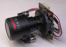 "AHD-H Motorized Zoom & Auto focal 2.8-12mm LENs 1/3"" Panasonic CMOS 34227+NVP2441 CCTV board camera module board +OSD Cable(China)"