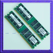 2GB Kit 2x1GB PC3200 DDR400 400MHz 184Pin DIMM Desktop Low Density MEMORY For Samsung Module 1G RAM Free Shipping