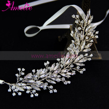 Free Shipping Handmade Victorian Navette Crystals  Hair Vine Rhinestone Hair Accessories Wedding Hair Piece