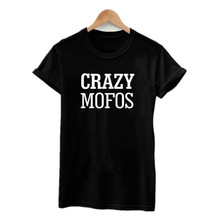 Women T Shirt 2017 Summer Niall Horan Crazy Mofos T Shirts One Direction Punk Rock 1D T-Shirt Cotton Hispter Couple Clothes(China)