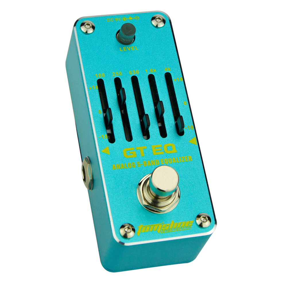 Tomsline AEG-3 GT EQ 5-band guitar equalizer Mini Analogue Effect True Bypass AROMA<br>