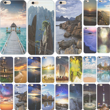 4/4S 2016 Most Beautiful Scenery Silicon Phone Cover Cases For Apple iPhone 4 iPhone 4S iPhone4 iPhone4S Case Shell Top Fashion