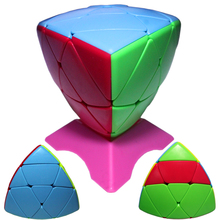 3x3x3 Colorful Rice Dumpling Magic Cube Game Square Rubiks Cube Educational Speed Cubo Puzzle Toy for Kids Fidget Kubus