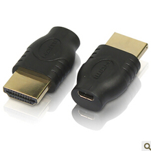 100pcs / lotsto HDMI Male to Female Micro HDMI socket adapter convertor ,Free shipping By Fedex(China)