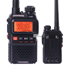UV-3R+ Walkie talkie baofeng VHF UHF Radio Transceiver 99 Channel Mini Walkie Talkie Handheld Talkie Transceiver VOX Function