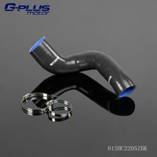 Silicone Boost Intercooler Pipe Throttle Body Hose FOR VW Polo 1.8T 9N 05-09