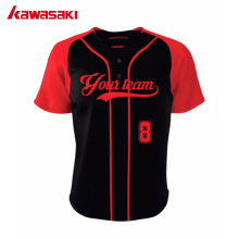 2017 New Custom Kawasaki Unisex Baseball Jerseys Shirts 100% Polyester Sublimated Practice Softball Shirt Jersey Plus Size 4XL(China)