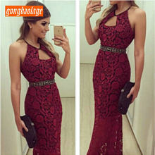 Compare Prices on Mermaid Burgundy Prom Dress Lace- Online Shopping Buy Low  Price Mermaid Burgundy Prom Dress Lace at Factory Price  a55d5d394b3e