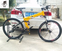 Kalosse Folding frame 26 inch Hydraulic brakes Microshift tyre dirt bike 30 speed mountain bike bicycle ,(China)