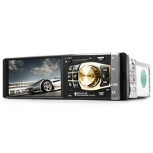 "Car FM Bluetooth Radio Player , Auto 4.1"" Screen HD USB Video MP3 Mp4 Mp5 Player For Stereo Music With Rear view Camera"