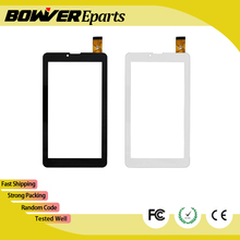 $ A+ 7 inch Touch Screen Digitizer Glass Panel replacement For Explay Hit/S02 3G,Oysters T72HM 3G T7V tablet PC(China)
