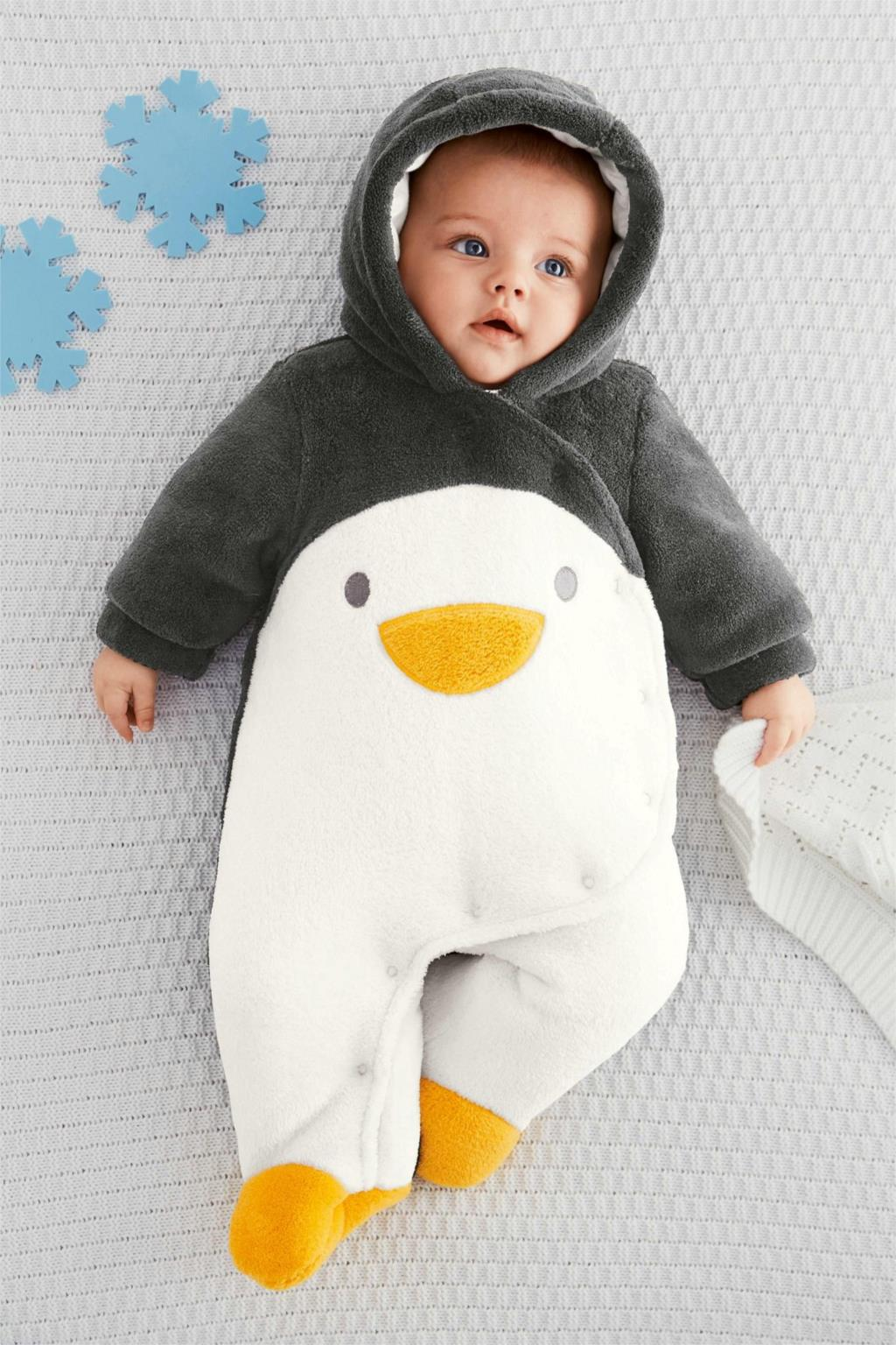 V-TREE NEW baby winter rompers fleece pajamas kids warm costume cute baby pajamas winter overalls for kids newborn snowsuit<br><br>Aliexpress