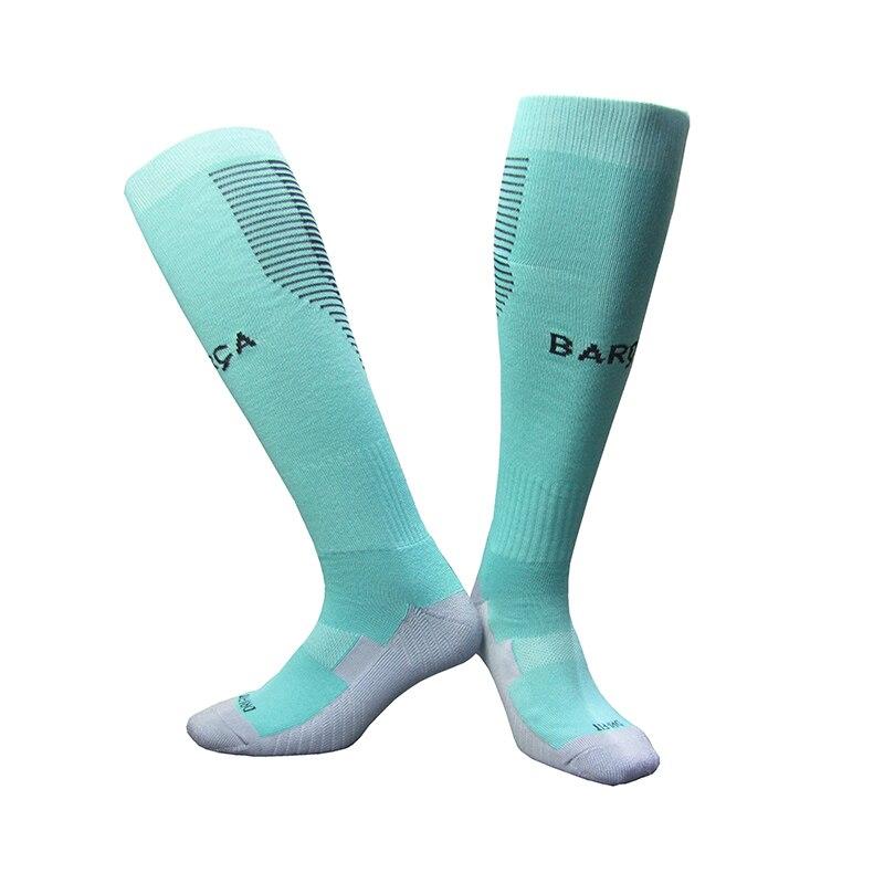 NO Logo National Team Germany Football Barreled Knees Slip Bottom Thick Stocking Spain Soccer Socks Compression Socks 9