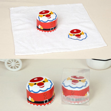 1pc 30*30cm Cartoon Embroidered Soft Microfiber Cotton Hand Face Cleaning Towel Kerchief Kitchen Dish Cloth Cleaning Rag 2017