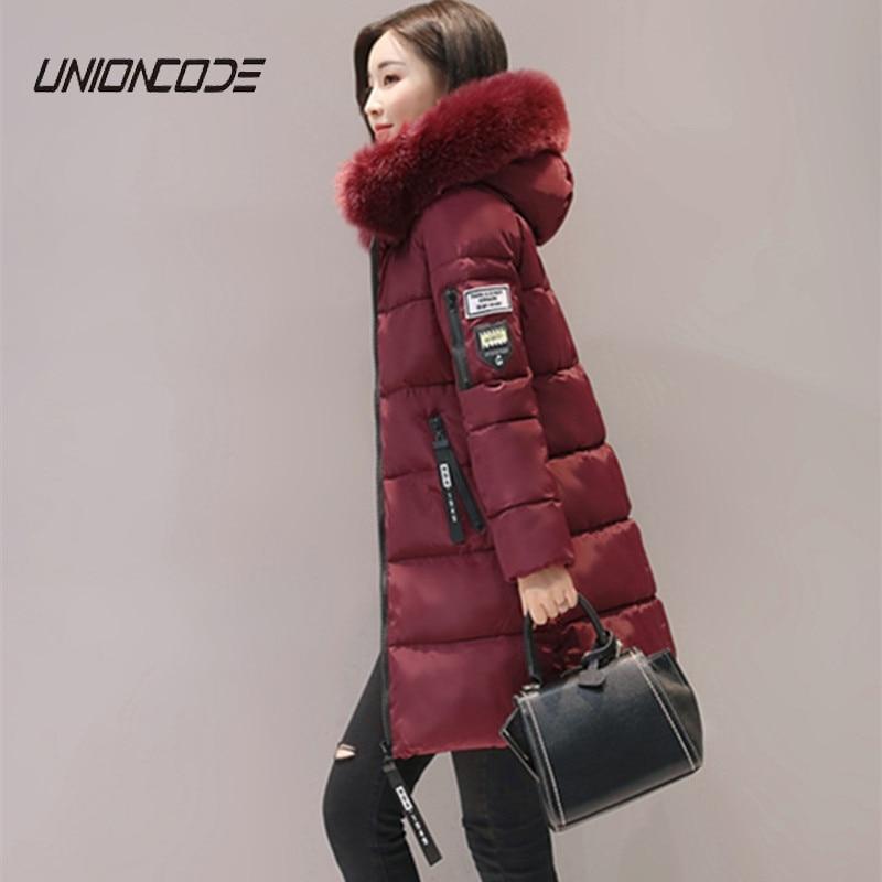 winter jacket women 2017 fashion slim long cotton-padded Hooded jacket parka female wadded jacket outerwear winter coat women Îäåæäà è àêñåññóàðû<br><br>