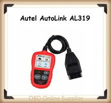 Original Auto Diagnostic Scan Autel AutoLink AL319 OBDII & CAN Code Reader Auto Link AL-319 Update on Official site Freeshipping(China)