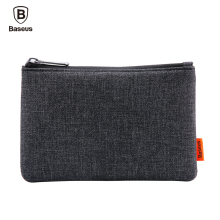 Baseus Phone Pouch For iPhone Samsung Xiaomi Cloth Fabric Storage Package Handbag Mobile Phone Bag Case Accessories 5.5 Inch(China)
