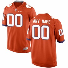 Nike 2016 Men's Clemson Tigers Can Customized Any Name Any Logo College Limited Ice Hockey Jerseys S,M,L,XL,XXL,3XL(China)