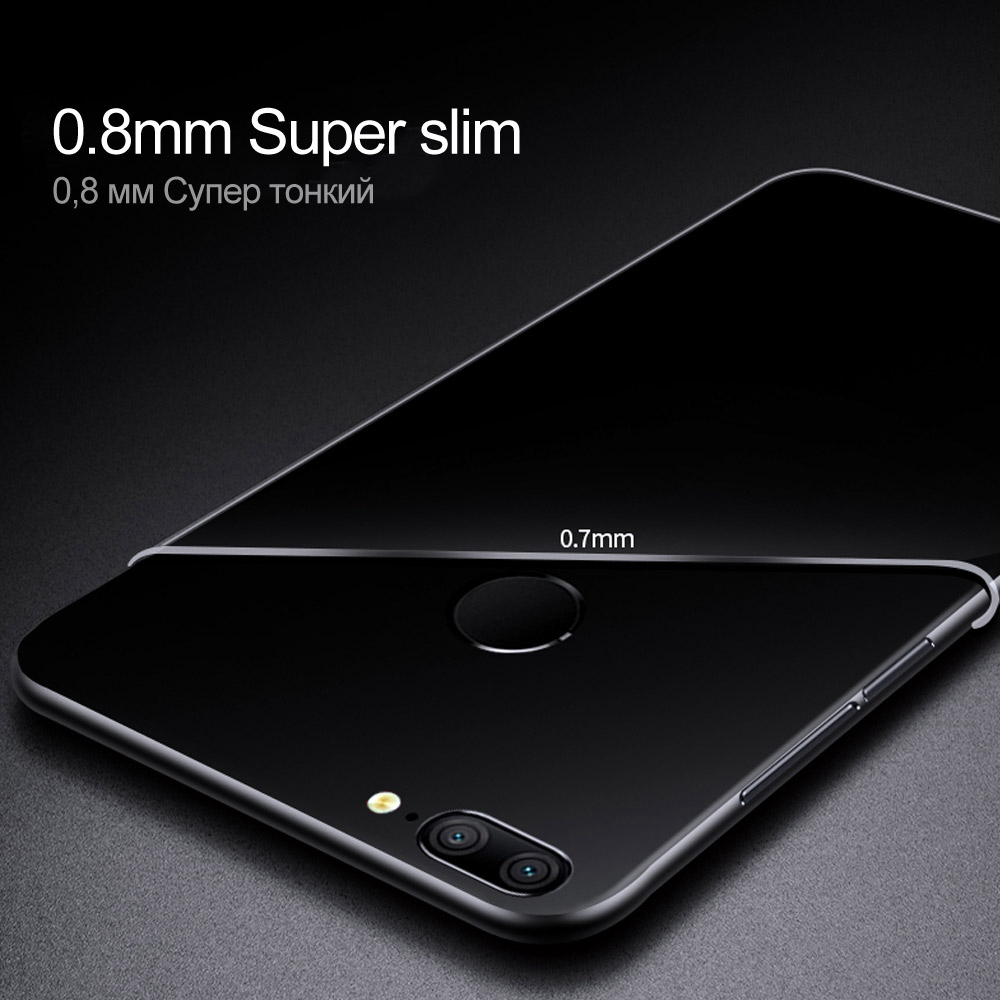 Soft-Case-For-Huawei-Honor-9-Lite-Case-TPU-Silicon-Transparent-1Fitted-Clear-Bumper-Back-Cover