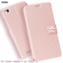 Original cover case For Xiaomi Redmi 4A Case Fashion Book Flip PU Leather Cell Phone Cover For Xiaomi Redmi 4A Stand phone case