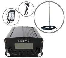 FMUSER CZE-7C 7w FM stereo PLL transmitter+car antenna +Powersupply KIT free shipping(China)