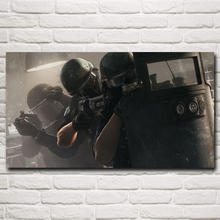 Rainbow Six: Siege Tom Clancy Video Games Art Silk Fabric Poster Prints Home Decor Painting 11x20 16x29 20x36 Inch Free Shipping