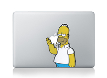 DallowayCabin New High Qulity Premium Colorful Simpson Removable Vinyl Sticker Decal for Macbook 11 12 13 15 inch