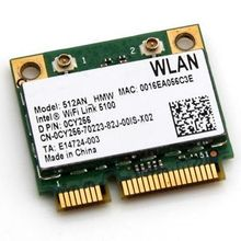 Wireless Adapter Card for Intel WiFi Link 5100 5100agn 512AN_HMW A/G/N Dual Band WiFi WLAN Half Mini PCIe  for dell acer asus