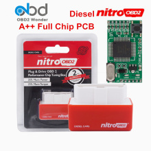 Full Chip Nitro OBD2 Diesel Chip Tuning Box Nitroobd2 ECOOBD2 Plug Drive ECO OBD2 Increasing ECU Performance Save Fuel Good Chip(China)