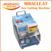 216 Lowest Price Automatic MIRACLE-A7 Key Cutting Machine MIRACLE A7 Full Automatic Electronic Three-axe A7 Key Cutting Machine