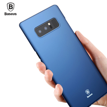 Baseus Luxury Case For Samsung Note 8 Case Ultra Thin Hard PC Plastic Case For Samsung Galaxy Note 8 Cases Back Phone Cover(China)